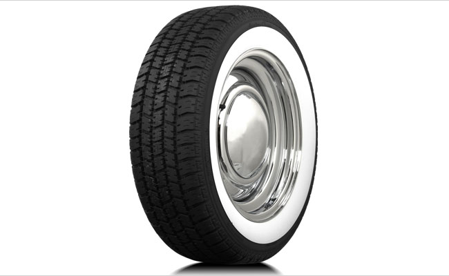 60-50 Series Wide Whitewall